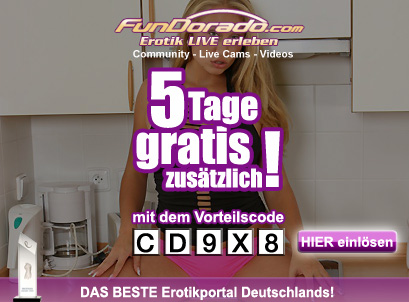 Jetzt FunDorado Sex Cam Flatrate 5 Tage kostenlos testen!
