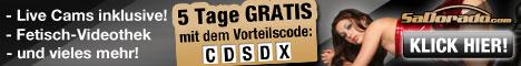 gratis Webcamsex mit SaDorado Gutschein